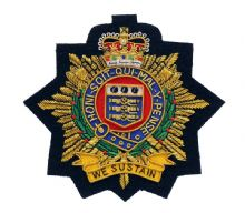 Royal Logistic Corps - Blazer Badge